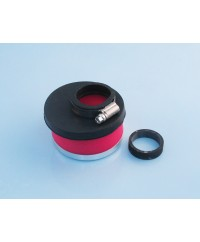 Filtro aria decentr. d.32-38 h60 ROSSO