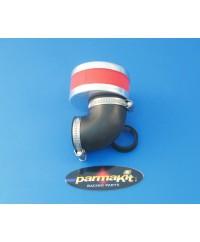 Filtro aria carburat. 19-21-24 90°rosso