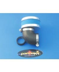 Filtro aria a 90° per carburatori 17,5-19-21-24-25 - blu