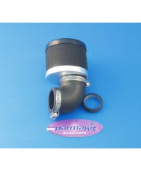 Filtro aria carburat 28 90°d48mm nero