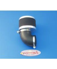 Filtro aria carburat19-21-24 90° nero