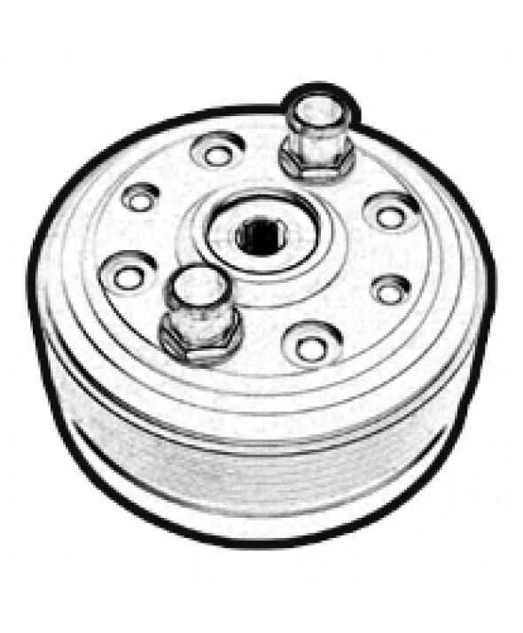 Testa MBK AV 10 con inserto d.50 LC