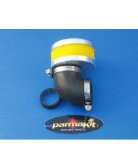Air filter carburat. 19-21-24 90°yellow