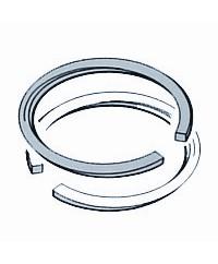 Ring d57x1 ID chromed s10 steel