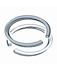 Ring set d.47x1,2 DI chr. half-Keystoneap