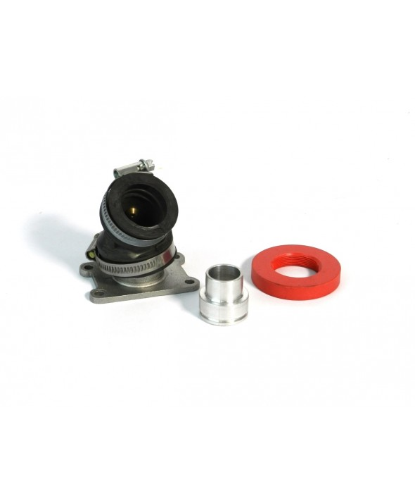 Inlet Manifold Minarelli AM 3-4-5-6 - Ajustable inclination d.19-24